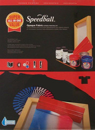 Speedball Fabric Screen Printing Kit