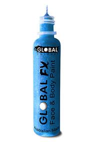 Global FX Face & Body Paint 36ml - Aqua Blue