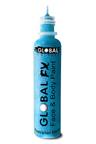 Global FX Face & Body Paint 36ml - Fluoro Neon Blue