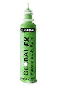 Global FX Face & Body Paint 36ml - Fluoro Neon Green
