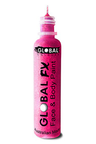 Global FX Face & Body Paint 36ml - Iridescent Pink