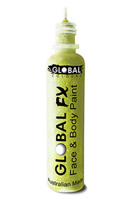Global FX Face & Body Paint 36ml - Iridescent Yellow