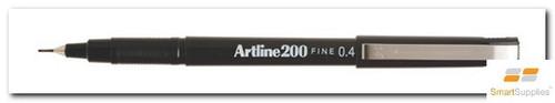 Artline 220 Fineliner Black Pen 0.2