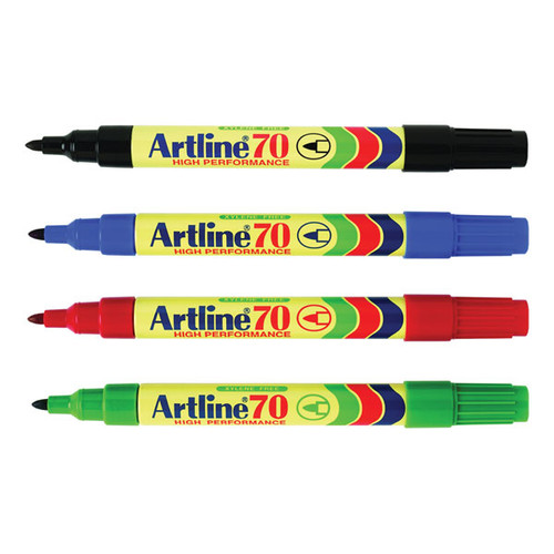 Artline Marker 70 Bullet Tip - Red