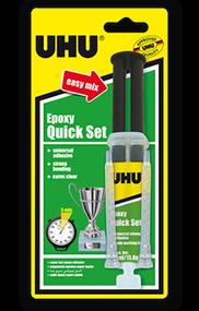UHU Epoxy Quick Set Glue with Syringe - 14ml