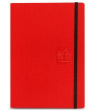 Caran D'Ache Notebook Canvas Cover A5 Blank Pages - Red   |  454.570