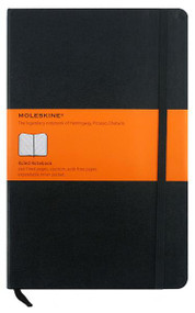 Moleskine Classic Notebook 240 Pages Hardcover - Large (13cm x 21cm) - Ruled