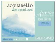 Fabriano Watercolour 200GSM Cold Pressed Block - 12 x 18cm