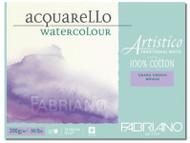 Fabriano Watercolour 200GSM Rough Block - 12 x 18cm