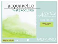 Fabriano Watercolour 300GSM Rough Block - 12 x 18cm