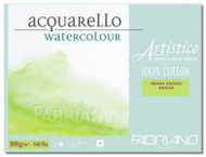 Fabriano Watercolour 300GSM Rough Block - 23 x 30.5cm