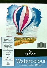 Montval Watercolour Pad 300GSM Medium - A3