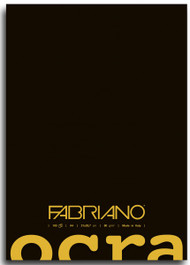 Fabriano Ocra Glue Bound - Plain