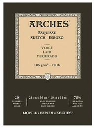 Arches Esquisse Sketch Pad 105GSM - 26cm x 36cm