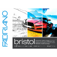 Fabriano Bristol Sketching and Drawing Pad 250GSM - 29.7cm x 42.0cm
