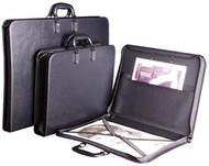 Florence Portfolio with Pocket & Elastic Strap - A3