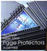 Florence Archival - Acid Free Polypropylene Sleeves - Pack of 10