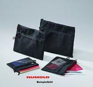 Rumold Mesh Bag A4 Black
