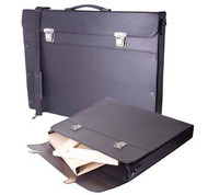 Florence Carry Case - Stiff Fibreboard with strap - A2