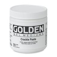 Golden Crackle Paste 236ml