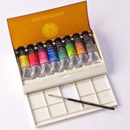 Sennelier Watercolour Travel Box - 8 Tubes + 1 Brush