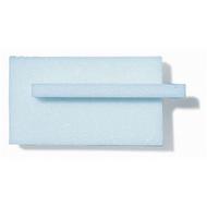 Light Blue Styrofoam, Trimmed - 10mm x 330mm x 580mm