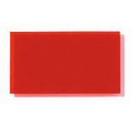 Transparent Coloured Rigid PVC - Red