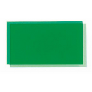 Transparent Coloured Rigid PVC - Green