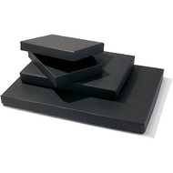Black Storage Box - 35mm x 162mm x 229 mm (A5)