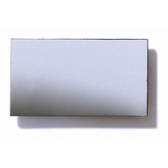 Polystyrene Coloured Mirror, Smooth - Silver