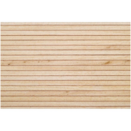 Model Boat Decking 1.5mm x 100mm x 1000mm - Obeche/Pear Wood