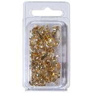 Paper Fasteners (Brads) - Gold - 75 Pieces