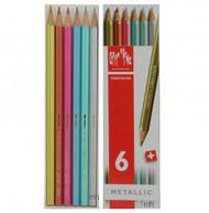 Fancolor Colour Pencils Metallic Assort. 6 Box   |  1284.406