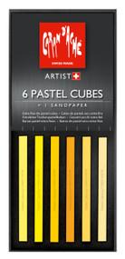 Pastel Cube Assorted Colour Set - Sunflower | 7806.002