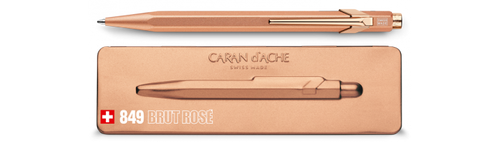 849 Ballpoint Pen with Slim Pack Box - Brut Rose  |  849.997