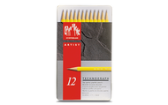 Technograph Lead Pencil Assort. 12 Box Metal     777.312