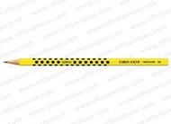 Grafik HB Graphite Pencil Yellow Varnish Black Square 2.1mm Lead  |  343.503