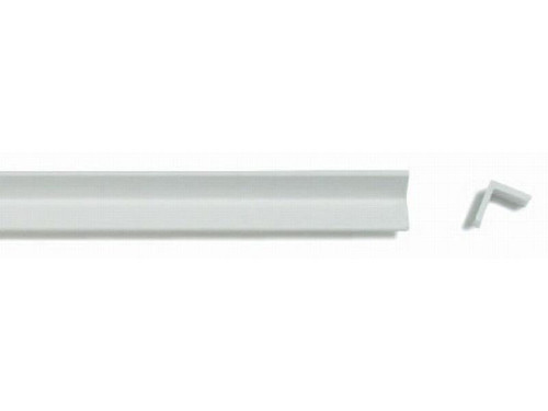 Asa L- Angle Section Strips, Equilateral - White