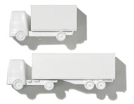Polystyrene Lorry White - 1:200