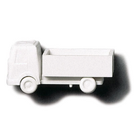 White Polystyrene Lorry Open Body - 1:200