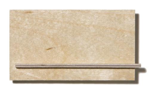 Birch Aircraft Plywood - 2.5 x 500 x 1000