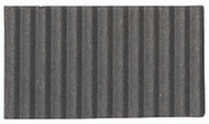 Corrugated Cardboard Strips Broad - Dark Grey