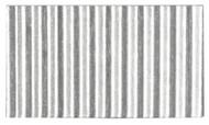 Corrugated Cardboard Strips Broad - Silver Silk Gloss