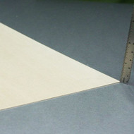 "Basswood Sheets - 1/32"" x 8"" x 24"""