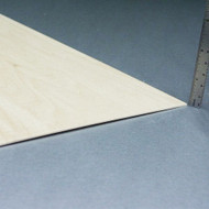 """Basswood Sheets - 1/16"""" x 8"""" x 24"""""""