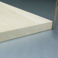 "Basswood Sheets - 1"" x 8"" x 24"""