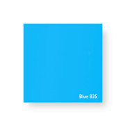 Acrylic Perspex Sheet 400mm x 800mm x 2mm - Blue