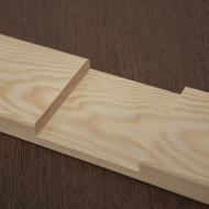 Profile 1 and 3 - Round Edge and Sharp Edge Cross Brace