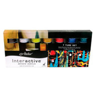 Atelier Interactive Artist Acrylics - 7 x 80ml Tube Set