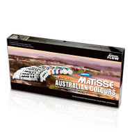 Matisse Flow Acrylics Australian Colours Set - 10 x 75ml